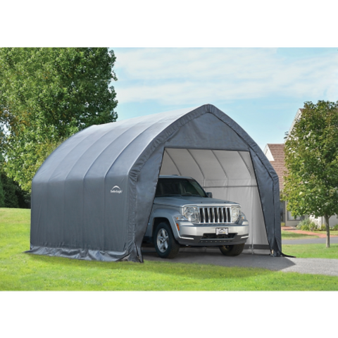 "ShelterLogic 62709 Garage-in-a-Box® Crossover/Small Truck 11 x 20 x 9'6"" GRAY"
