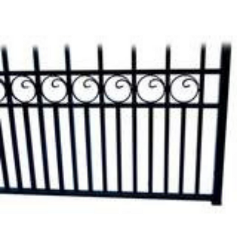 Image of Aleko Steel Single Swing Driveway Gate London Style 18 x 6 ft DG18LONSSW-AP