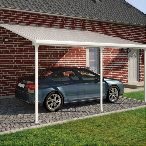 Image of Palram HG9220 Feria 13' x 20' Patio Cover - White