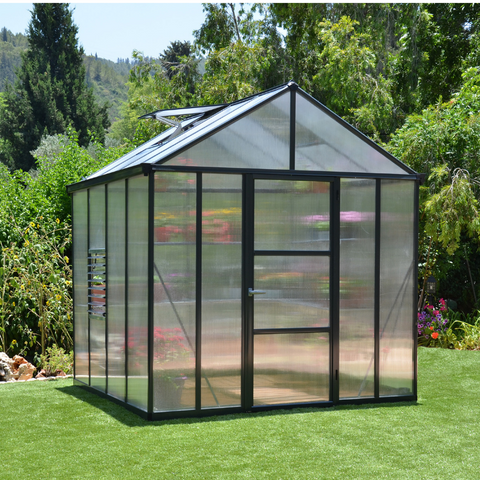 Image of Palram Glory 8' x 8' Greenhouse - HG5608