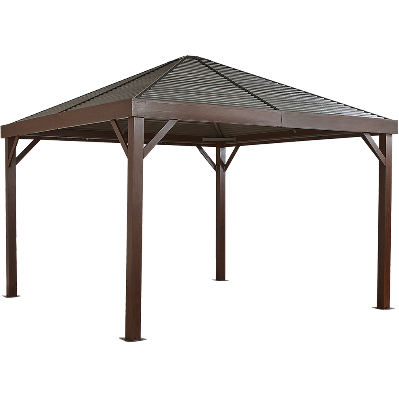 Sojag 500-8162769 SOUTH BEACH #93LLL Gazebo 12x12 steel