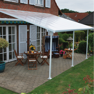Palram Feria 10' x 24' Patio Cover - White - HG9324
