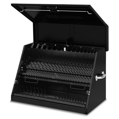 Montezuma ME300B 30-Inch Black Portable Toolbox (Weather Resistant)