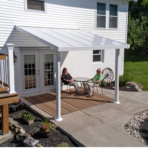 Image of Palram Patio Covers Gala 10' x 10' Patio Cover - HG9370