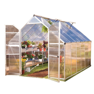 Palram HG5812 Essence 8' x 12' Greenhouse Nature Series