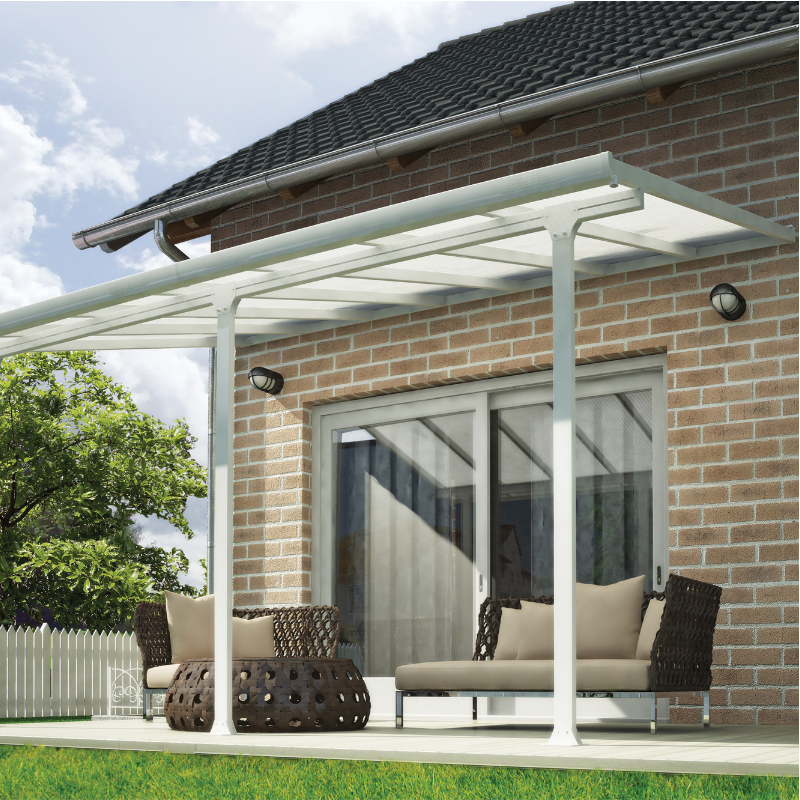 Palram Feria 10' x 14' Patio Cover - White - HG9314