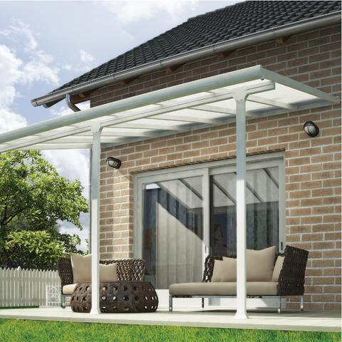 Image of Palram Feria 10' x 14' Patio Cover - White - HG9314