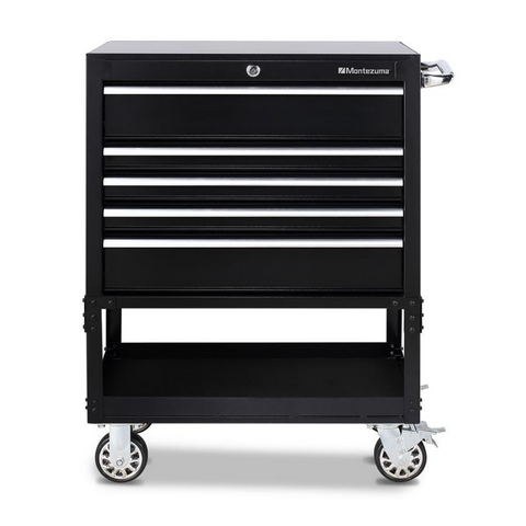 Image of Montezuma BK3005UC 30-Inch 5-Drawer Utility Cart