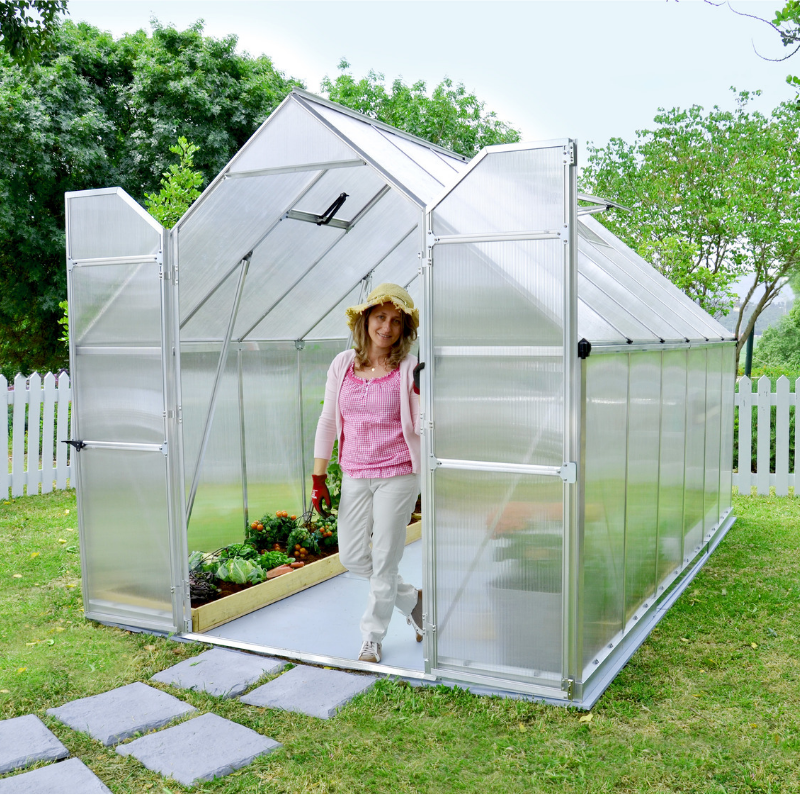 Palram Essence 8' x 12' Greenhouse Nature Series - HG5812