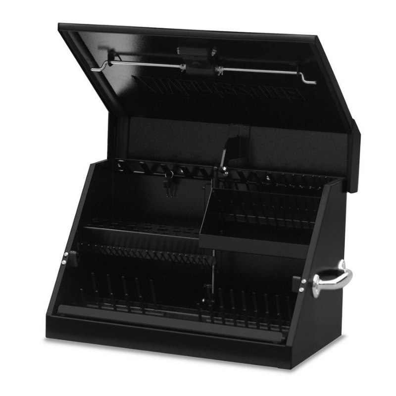 Montezuma SM200B 22.5-Inch Black Portable Toolbox (Weather Resistant)
