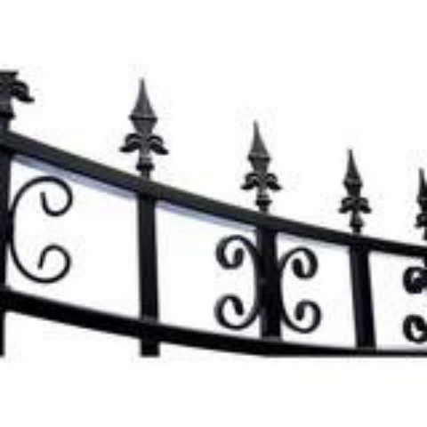 Image of Aleko Steel Single Swing Driveway Gate St.Petersburg 18 x 6 Ft DG18SPTSSW-AP