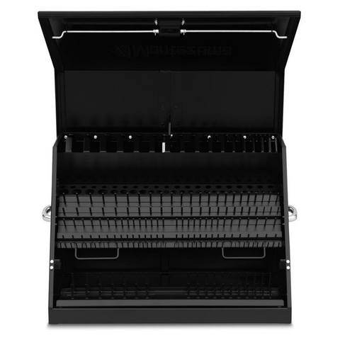 Image of Montezuma ME300B 30-Inch Black Portable Toolbox (Weather Resistant)