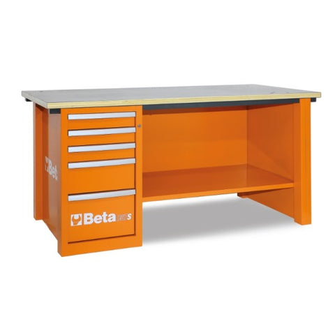 Beta Tools C57S/D-O-MASTERCARGO WORKBENCH ORANGE