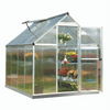 Palram Mythos 6' x 8' Greenhouse Nature Series - Silver - HG5008