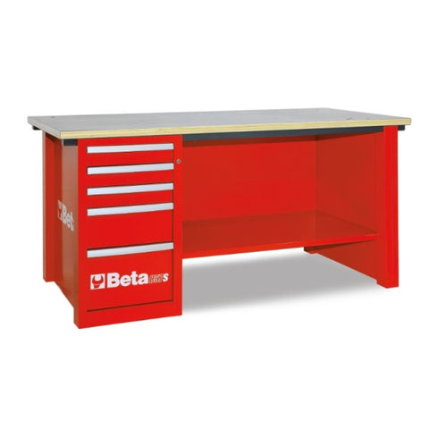 Beta Tools C57S/D-R-MASTERCARGO WORKBENCH RED