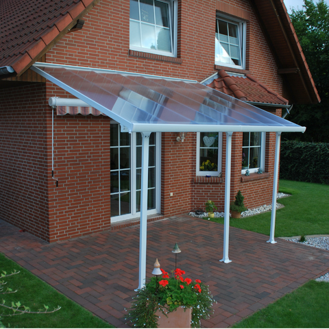 Palram HG9220 Feria 13' x 20' Patio Cover - White