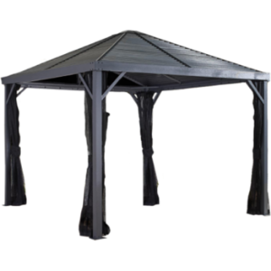 Sojag 500-8162813 SANIBEL #93LLL Gazebo 10'x10' Steel Roof