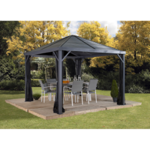 Image of Sojag 500-8162813 SANIBEL #93LLL Gazebo 10'x10' Steel Roof