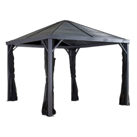 Sojag 500-9162806 SANIBEL #93LLL Gazebo 8'x8' Steel Roof
