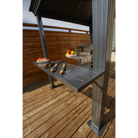 Image of Sojag BBQ Mykonos 5x8 Hard Top Grill Gazebo
