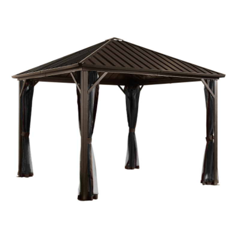 Sojag 500-9165029 DAKOTA #53 Gazebo 10'x12' Steel Roof