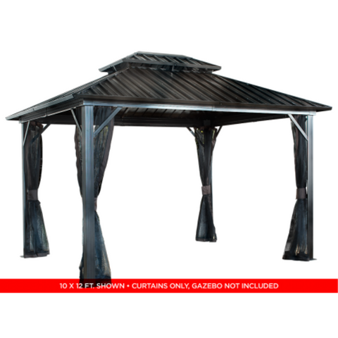 Image of Sojag 500-9165067 GENOVA II #53 Gazebo 12'x12' Steel Roof
