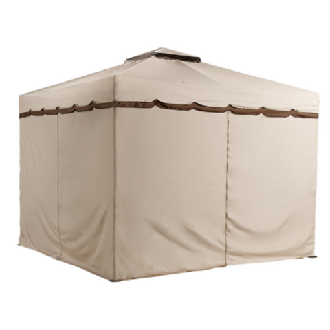 Image of Sojag 500-9165388 ROMA #53 Gazebo 10'x10' Polyester Roof