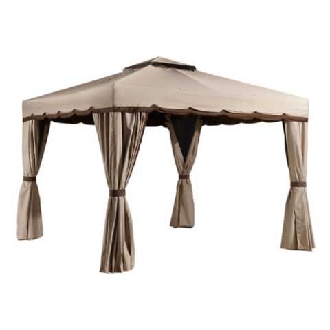 Image of Sojag 500-9165395 ROMA #53 Gazebo 10'x12' Polyester Roof