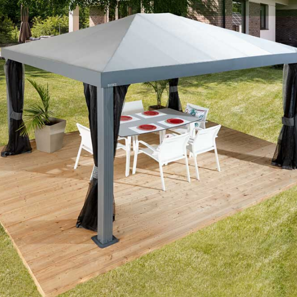 Sojag Monteserra Gazebo 10x12 ft. with Mosquito Netting