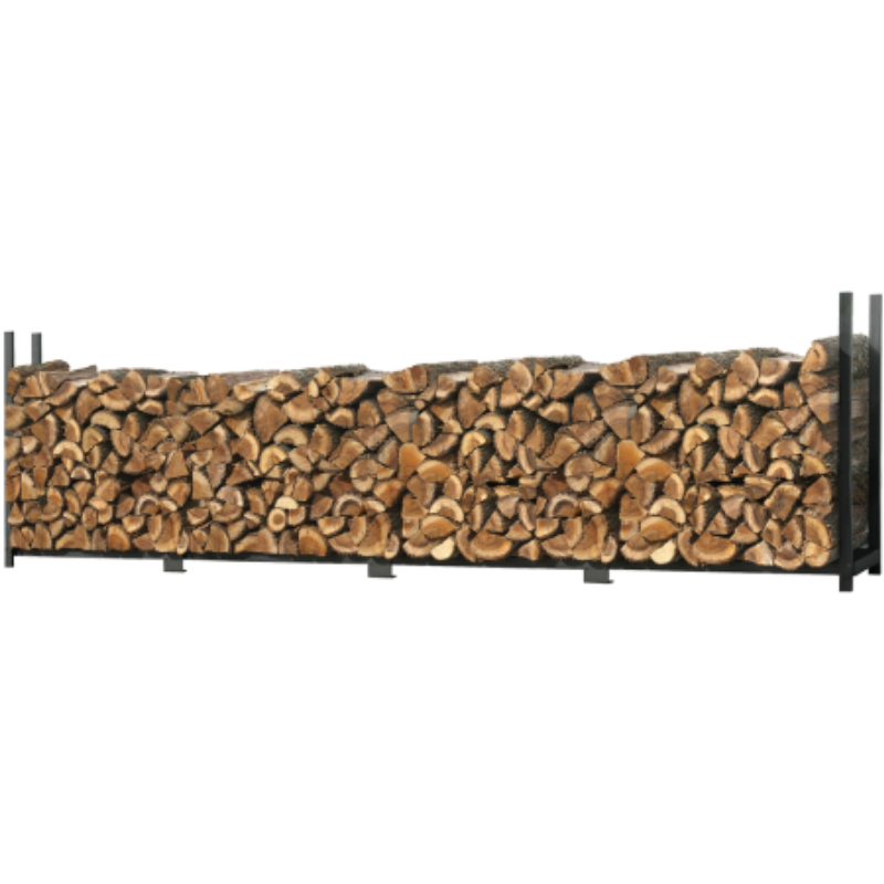Shelter Logic 90469 16 ft. / 4,9 m Ultra Duty Firewood Rack w/o Cover