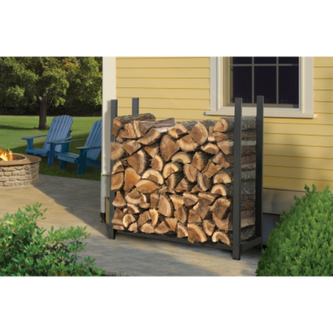 Shelter Logic 90471 4 ft. / 1,2 m Ultra Duty Firewood Rack w/o Cover
