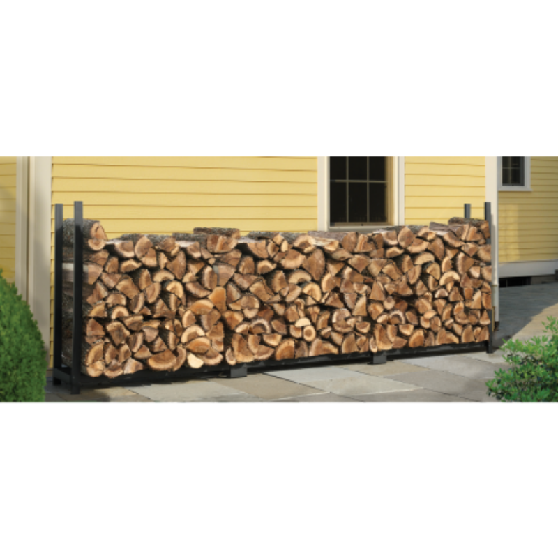 Shelter Logic 9047312 ft. / 3,7 m Ultra Duty Firewood Rack w/o Cover
