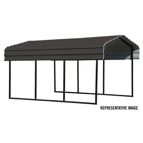 Arrow CPHC102007 CARPORT 10X20X07 CHARCOAL