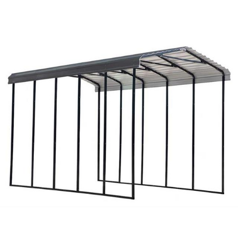 Arrow RV Carport, 14 x 24 x 14 - Charcoal
