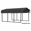 Arrow CPHC102907 CARPORT 10X29X07 CHARCOAL