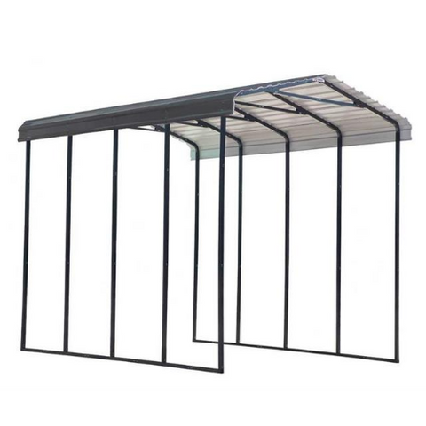 Arrow RV Carport, 14 x 20 x 14  Charcoal SKU#CPHC142014 Shelter Garage