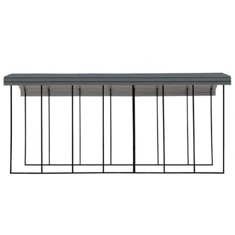 Arrow RV Carport, 14 x 33 x 14 - Charcoal
