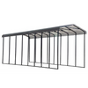 Arrow RV Carport, 14 x 38 x 14 - Charcoal