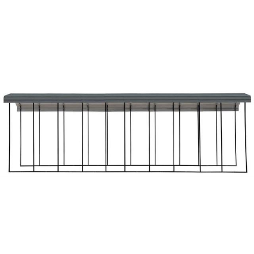 Arrow RV Carport, 14 x 47 x 14 - Charcoal