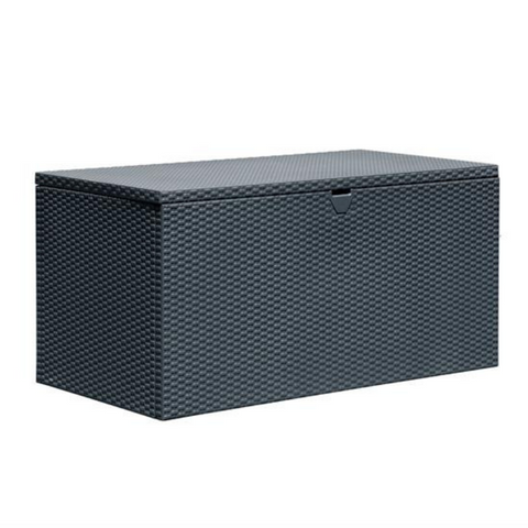 Arrow DBBWAN Spacemaker® Deck Box, Basket Weave, Anthracite