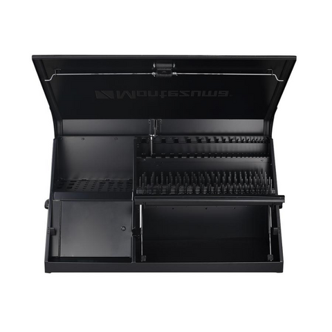 Image of Montezuma DX411B 41-Inch Black Portable Toolbox (Weather Resistant)
