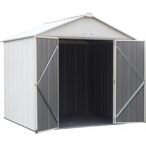 Image of Arrow EZ8772HVCR EZEE Shed® , 8x7, High Gable, 72 in walls, vents, Cream