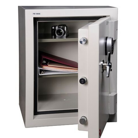 Image of Hollon FB-685C Company Fire and Burglary Safe with Combination Lock