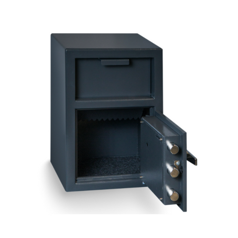 Hollon FD-2014K Depository Safe with Key Lock