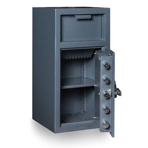 Hollon FD-2714K Depository Safe with Key Lock