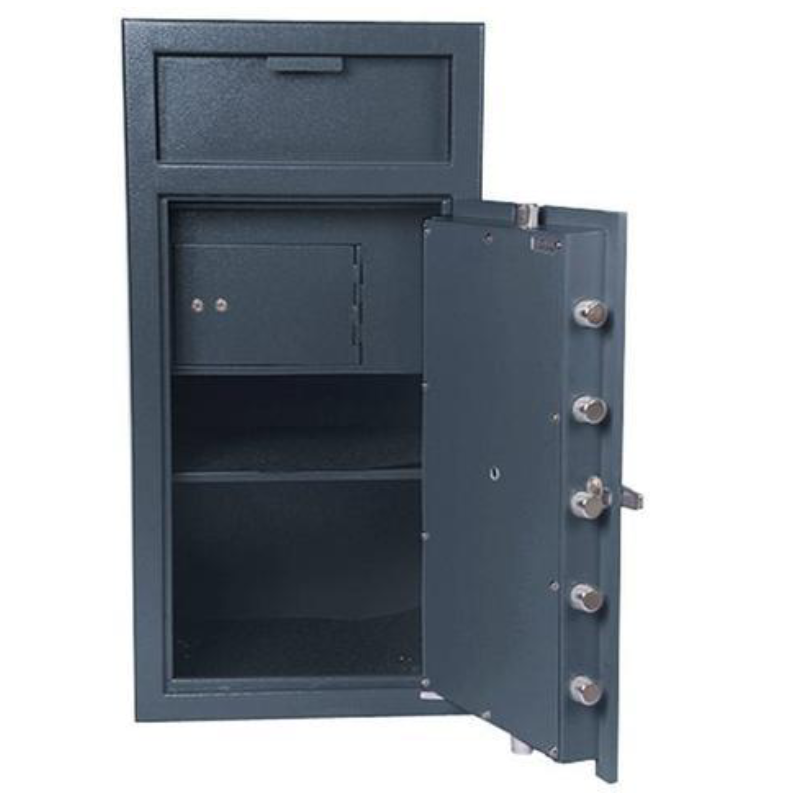 Hollon FD-4020CILK Depository Safe with Inner Locking Compartment