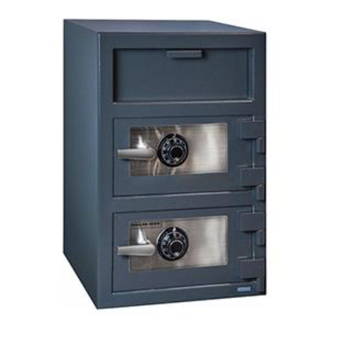 Hollon FDD-3020CC Double Door Depository Safe with Combination Lock