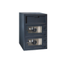 Hollon FDD-3020EE Double Door Depository Safe with Electronic Lock