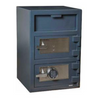 Hollon FDD-3020EK Double Door Depository Safe with Key Lock