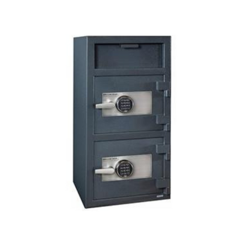 Image of Hollon FDD-4020EE Double Door Depository Safe with Electronic Lock
